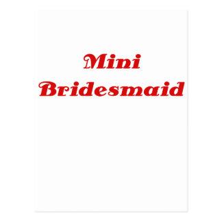 Mini Bridesmaid Postcards