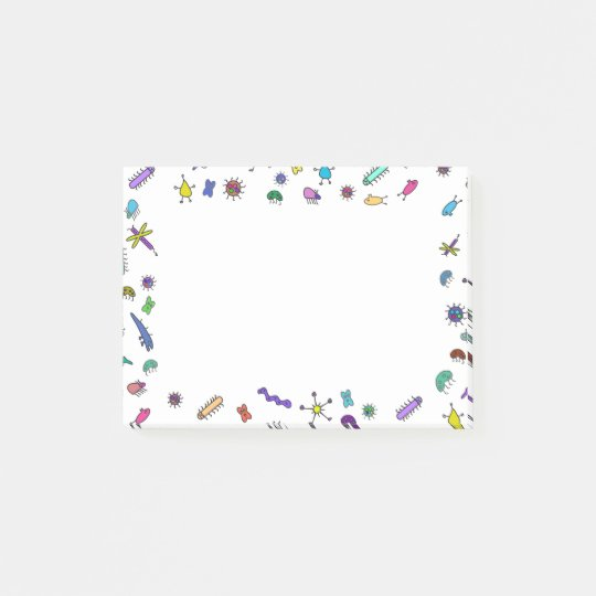 Mini Bugs and Mini Beasts Post-it® Notes