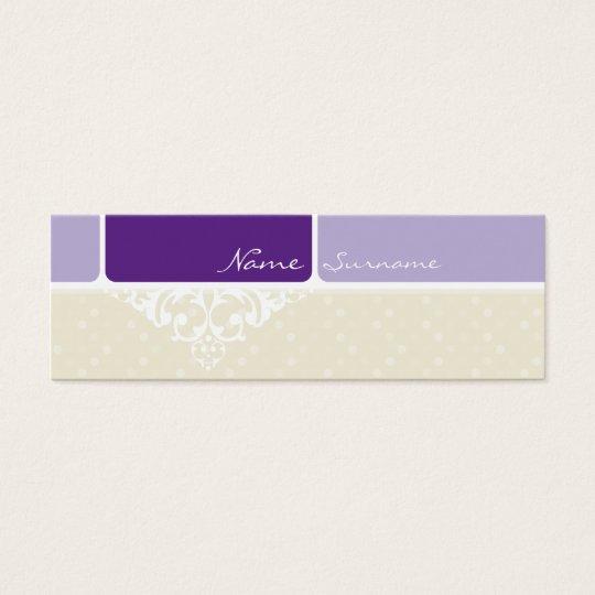 MINI BUSINESS CARD :: bliss 3
