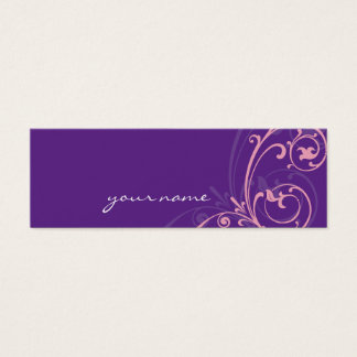 MINI BUSINESS CARD :: fabulously 2