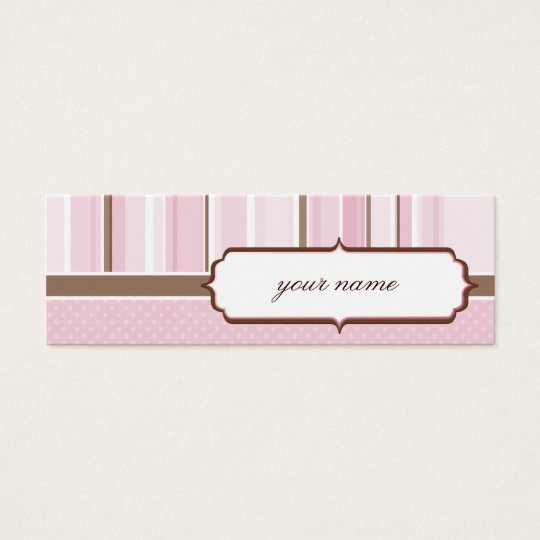 MINI BUSINESS CARD :: vintage 4