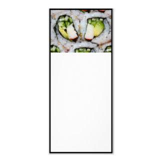 Mini California Roll - Sushi Customized Rack Card