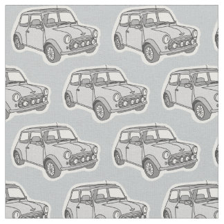 Mini car fabric