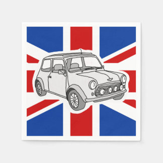 mini car paper napkin