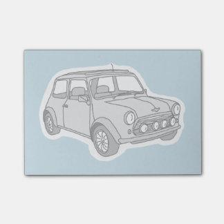 Mini car post-it notes