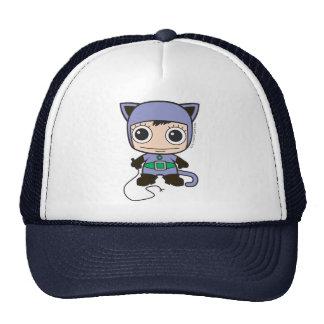 Mini Cat Woman Cap
