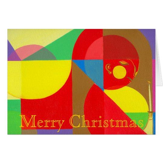 Mini Christmas Greeting Card