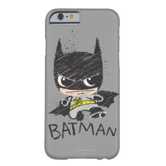 Mini Classic Batman Sketch Barely There iPhone 6 Case