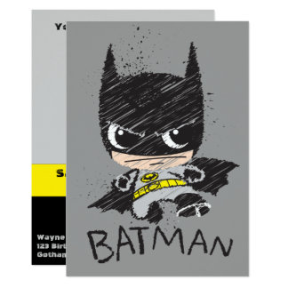 Mini Classic Batman Sketch Card