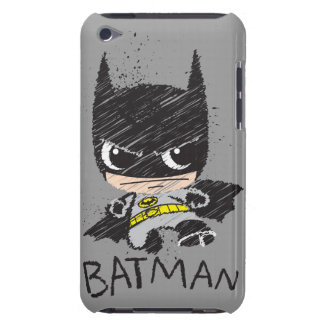Mini Classic Batman Sketch Case-Mate iPod Touch Case