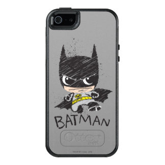 Mini Classic Batman Sketch OtterBox iPhone 5/5s/SE Case