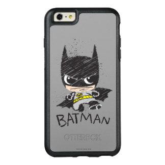 Mini Classic Batman Sketch OtterBox iPhone 6/6s Plus Case