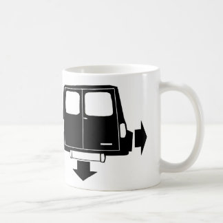 Mini Clubman Estate & Van Low and Wide Mug