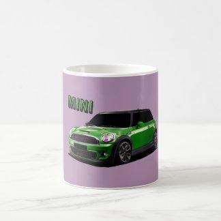 Mini Cooper Car Coffee Mug