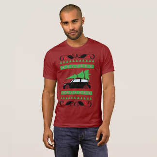 Mini Cooper Christmas T-Shirt