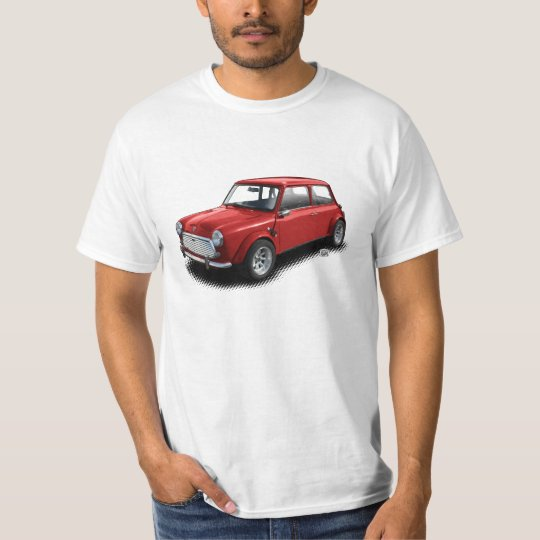 "Mini Cooper Classic Vintage Auto Car 1969 ""Mini"