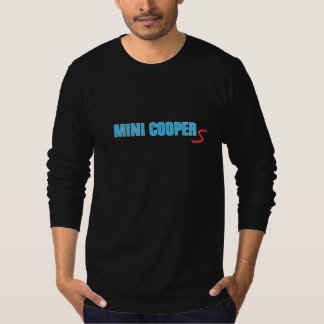 "Mini Cooper Electric Blue ""S"" T-Shirt"