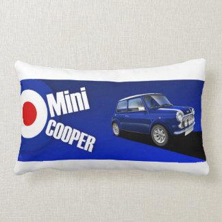 Mini Cooper Illustrated Cushion