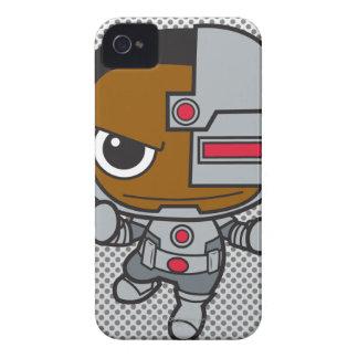 Mini Cyborg iPhone 4 Case-Mate Cases