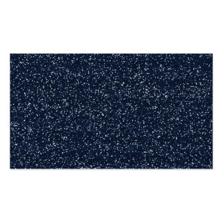 MINI DARK NAVY NIGHT BLUE GLITTER TEXTURE TEMPLATE PACK OF STANDARD BUSINESS CARDS