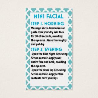 Mini Face R +F card- R + Face F Business Card