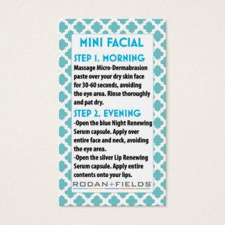 Mini Face R +F card- Rodan + Face Fields Business Card
