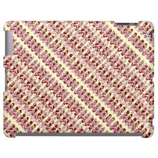 Mini Flip Flops Design (pink/red) iPad Case