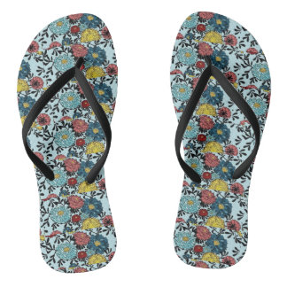 MINI FLOWERS SLEEPER FLIP FLOPS