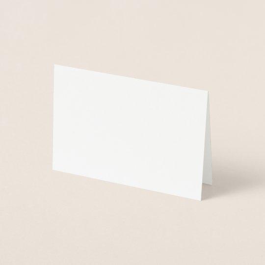 Foil Card, Mini (8.9 x 12.7 cm)