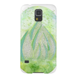 Mini Forest with Birds in flight - Illustration Galaxy S5 Covers
