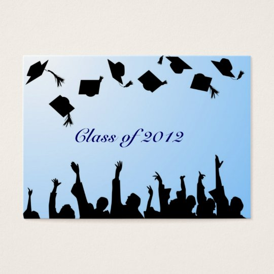 Mini Graduation Announcements Business Card