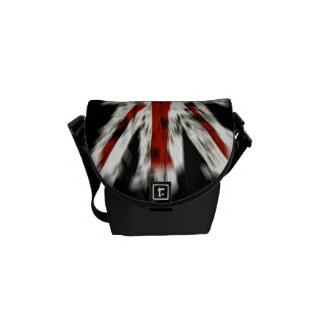 Mini Grunge Union Jack Commuter Messenger Bag