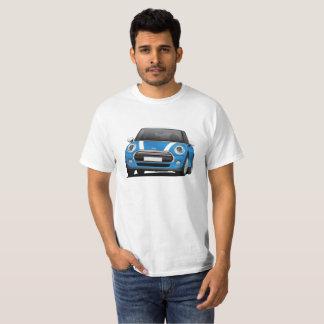 Mini Hatch Cooper (F56) blue - white T-Shirt