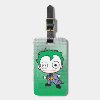 Mini Joker Luggage Tag