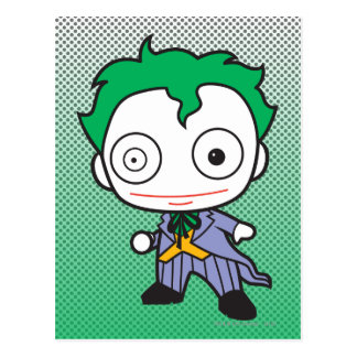 Mini Joker Postcard