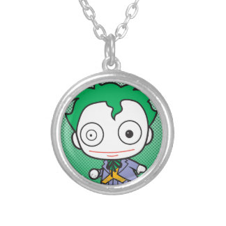 Mini Joker Silver Plated Necklace