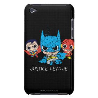 Mini Justice League Sketch iPod Touch Case-Mate Case