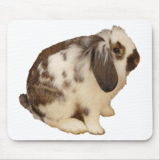 mini Lop Bunny Mousepad