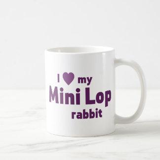 Mini Lop rabbit Basic White Mug