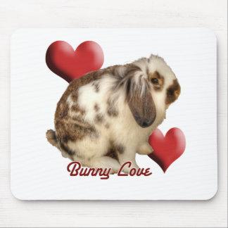 Mini-Lop rabbit Mousepads