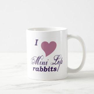 Mini Lop rabbits mug Basic White Mug