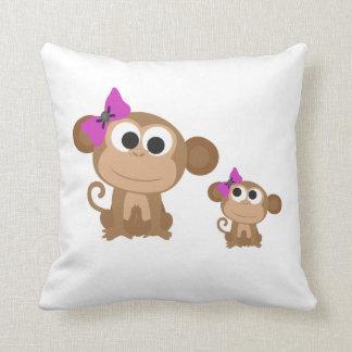 Mini me monkey cushion