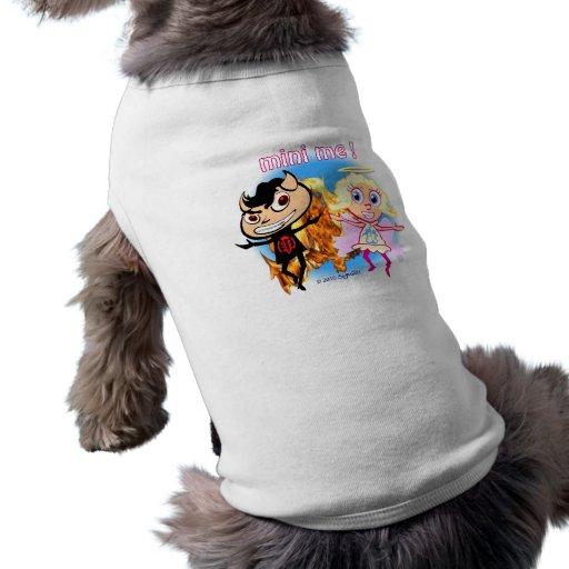 Mini Me! Naughty Boy and Nice Girl Dog Shirt
