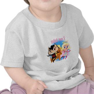 Mini Me Naughty Boy and Nice Girl T Shirt