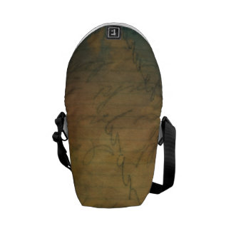 Mini Messenger Bag for Writers