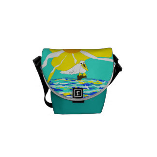 Mini Messenger Bag with The Pelican