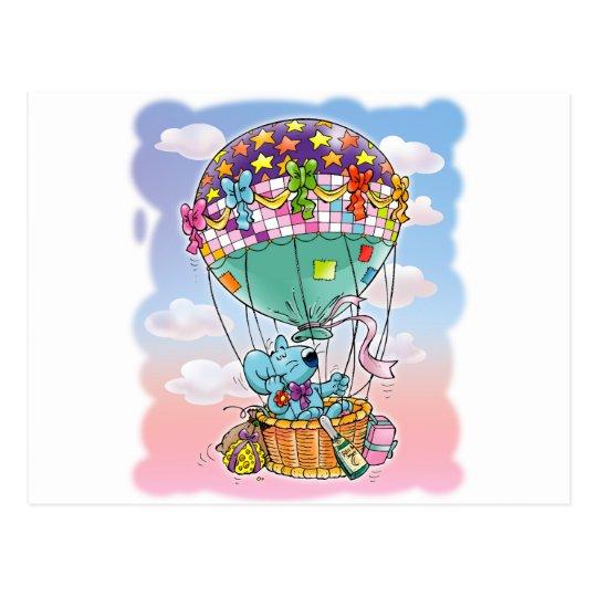 Mini Mice and big balloon Postcard