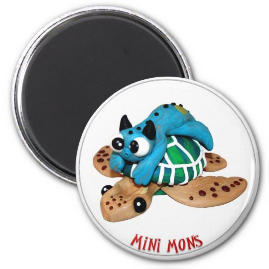 "Mini Mons ""Take a Ride"" Magnet"