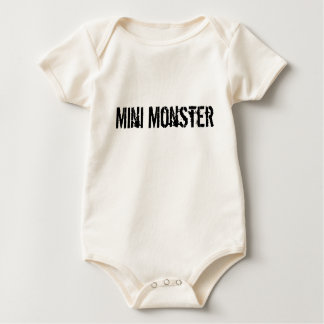 Mini Monster Baby Bodysuit