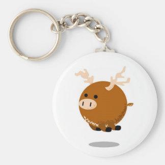 mini-moose key ring